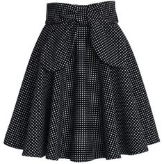 Chicwish Delight in Dots A-line Skirt