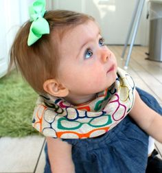 15 Stylish Baby Bibs (Almost) Too Cool to Drool on via Brit + Co.