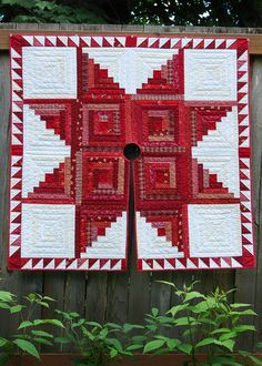 Welcome to Bloomin' Workshop Quilt Patterns  Log cabin Christmas tree skirt