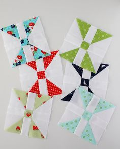 Patchwork Quilt Along February's blocks