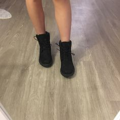 389c804505 30 Best all black timberlands womens images | Timberland mens, Black ...
