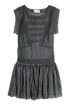 Robe brodée en lyocell mélangé | H&M