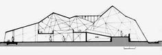 Hindustan Lever Pavilion by Charles Correa, 1961 Parametric Architecture, Space Architecture, Architecture Drawings, Critical Regionalism, Model Sketch, Plan Drawing, Urban Sketching, Pavilion, Floor Plans