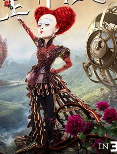The Red Queen (Alice Through the Looking Glass movie character)  Sometimes the one you think is bad really is not...