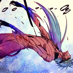 #Grimmjow defeat - #Bleach Graphically Manipulated by Chiara Bruno