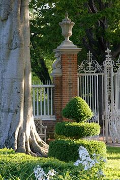 Garden Gate Governor's Palace, Colonial Williamsburg