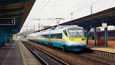 ČD 680 681.007-1, SC Pendolino to Prague.