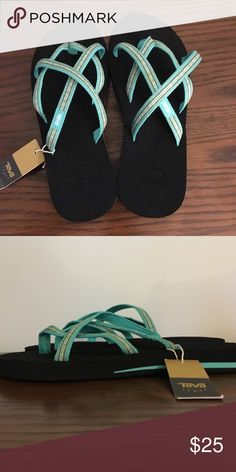 7398c52670d967 New with Tag Teva Olowahu Flip Flops