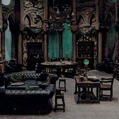 18 Gothic Living Room Designs
