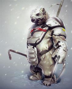 Northern Warrior by Ggalero.deviantart.com on @deviantART