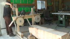 Homemade band-saw mill I have never seen anything cheaper or easier to build. Ever! This would be just fine until a guy could afford to up grade.