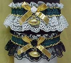 New York Jets Football garters Garters Sports garters. Football custom garters
