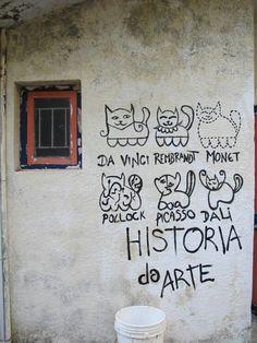 Art History via Cats