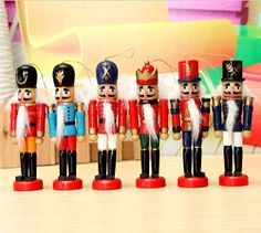 The Nutcracker soldier Christmas ornaments (12cm tall) are back again this year. Like our post and tell us which color you want to receive. Free shipping. No purchase necessary.