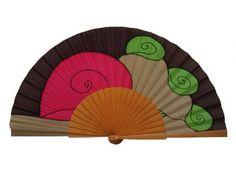 Craft Club, Hand Fans, Pattern, Crafts, Painting, Umbrellas, Vintage, Ideas Para, Shapes