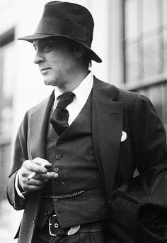 "gregorypecks: ""John Barrymore, 1924. """