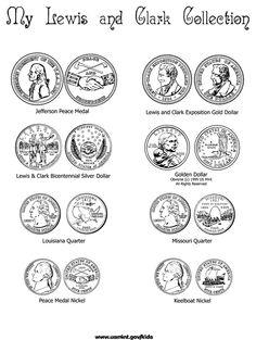 Lewis and Clark Coin Collection