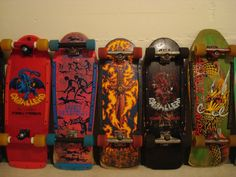 View topic - Got Powell & Peralta? Old School Skateboards, Vintage Skateboards, Skate Decks, Skateboard Decks, Skate Wheels, Stone Age, Snowboards, Drawing Poses, The Good Old Days