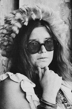 Janis: As free a beautifully chaotic soul could ever be. <3
