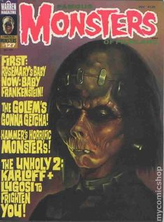 Famous Monsters of Filmland Magazine #127