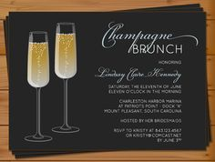 """Bridal"" instead of ""Champagne""? PRINTABLE  Bridal Shower Brunch Luncheon by palmettomama on Etsy, $15.00"