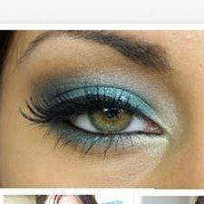 How to get a teal smokey eye - Tutorial