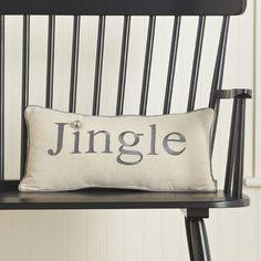 Jingle Lumbar Pillow