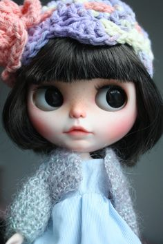 OOAK Custom Blythe doll Face up Toys hand carved by LilysSecretBox
