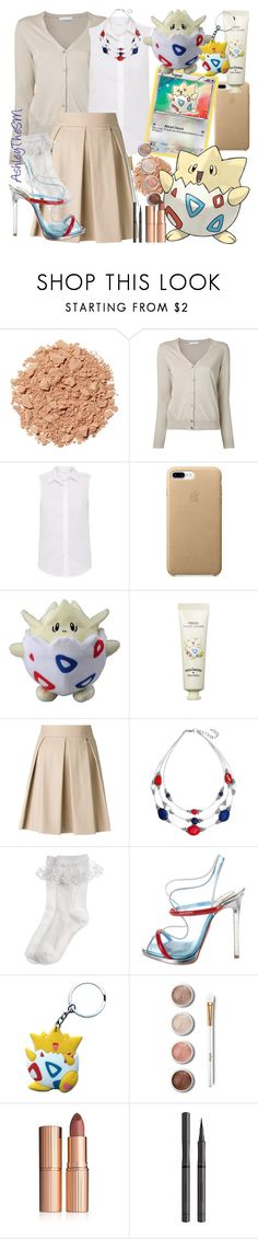 """""""Fairy Type Trainer - Togepi"""" by ashleythesm ❤ liked on Polyvore featuring Illamasqua, Fabrizio Gianni, Tony Moly, Boutique Moschino, Monsoon, Christian Louboutin, Terre Mère, Charlotte Tilbury and Burberry"""