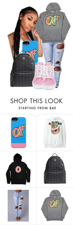 """School Tomorrow "" by shamyadanyel ❤ liked on Polyvore featuring ODD FUTURE, Moschino, MCM and Vans"