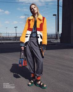 Suvi Koponen by Benny Horne for Vogue Korea April 2014 2
