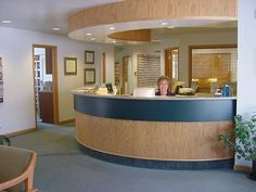 closed in front desk doctors office - google search | office