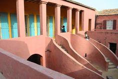 The AfroFusion Spot: Travel Diaries: Exploring Goree Island in Dakar, Senegal, art, island, views, architecture, goree, dakar, senagal, travel, trave diaries, african art, african, africa, tour, tourist, color, colourful, slave slavery