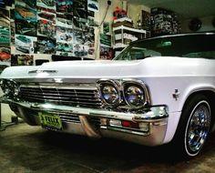 1965 impala convertible 72 spoke Dayton wheels