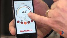Palazzetti en Expobiomasa 2014: alto rendimiento en estufas de pellets y control a través de app.