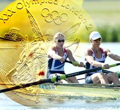 Oarsome Twosome - Heather Stanning and Helen Glover win team GB's first olympic Gold ! Fantastic. #olympics #rowing #2012 #teamGB