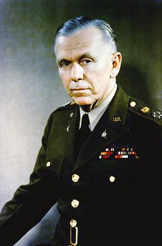 File:General George C. Marshall, official military photo, 1946.  an true American hero...and mine. and my dad too.  three purple hearts and bronze star.