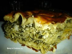 Spanakopita, Greek Recipes, Vegetable Dishes, Cheesesteak, Pasta Dishes, Food Inspiration, Quiche, Casserole, Recipies