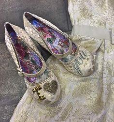 Irregular Choice I LOVE YOU Character Heels Gold Wedding Shoes News