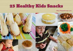 23 Healthy Kids Snacks