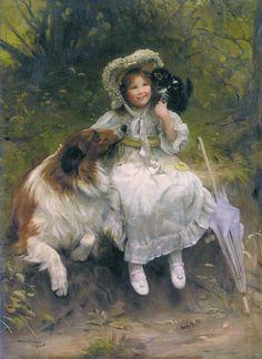 Charles Burton Barber 1845-1894гг.