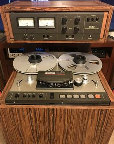 Reel to Reel Tape Recorder Manufacturers - TEAC corporation Brazilian Knickers, Audio Room, Bang And Olufsen, Tape Recorder, Audio Equipment, Audiophile, Speakers, Antiques, Vintage