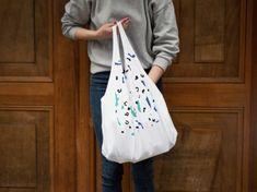 DIY-Anleitung: Einfache Tasche aus T-Shirt gestalten via DaWanda.com