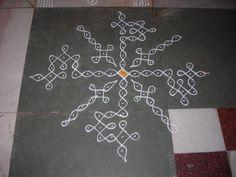 அழியாத கோலம்/ ముగ్గులు / रंगोली : diwali rangoli