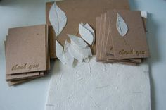 Wedding thank you cards, maybe. Good for any occasion!