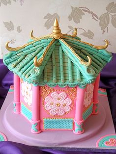 Chinese Pagoda cake AH - I know I pin a lot of cakes for Randa, but this one literally takes the cake - pun intended. Love it.