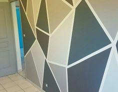 Peinture murale géométrique