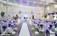 Decoração para festa de casamento e cerimônia