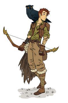 Male human ranger d&d character concept art в 2019 г. Fantasy Character Design, Character Creation, Character Design Inspiration, Character Concept, Character Art, Concept Art, Dungeons And Dragons Characters, D D Characters, Fantasy Characters