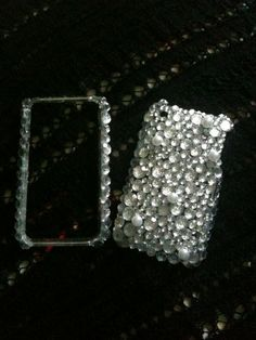 DIY RHINESTONE PHONE CASE!!  Stuff you need: ~a clear phone case (you can get on ebay for .99) ~some E6000 Super glue ~some Rhinestones (make sure you have enough) ~pearls (optional)  ~a pencil ~some wax paper  Directions: Tape the wax paper down to a flat surface (this will keep all the glue from getting on the table). Get your supplies opened, and rub a small amount of glue on the tip of the pencil. It will pick the rhinestones up so you can place them more carefully.  Start…